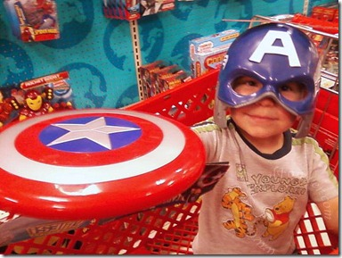 Captain America JSL