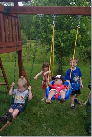 Swing time together