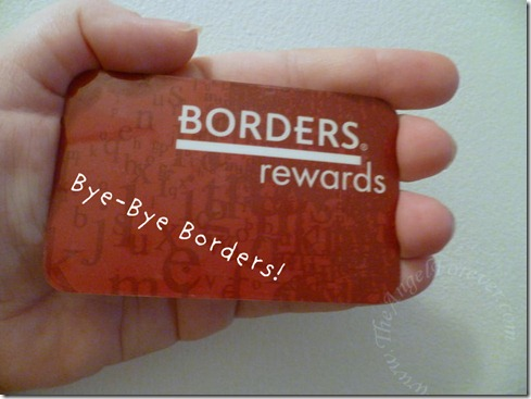 No more Borders rewards