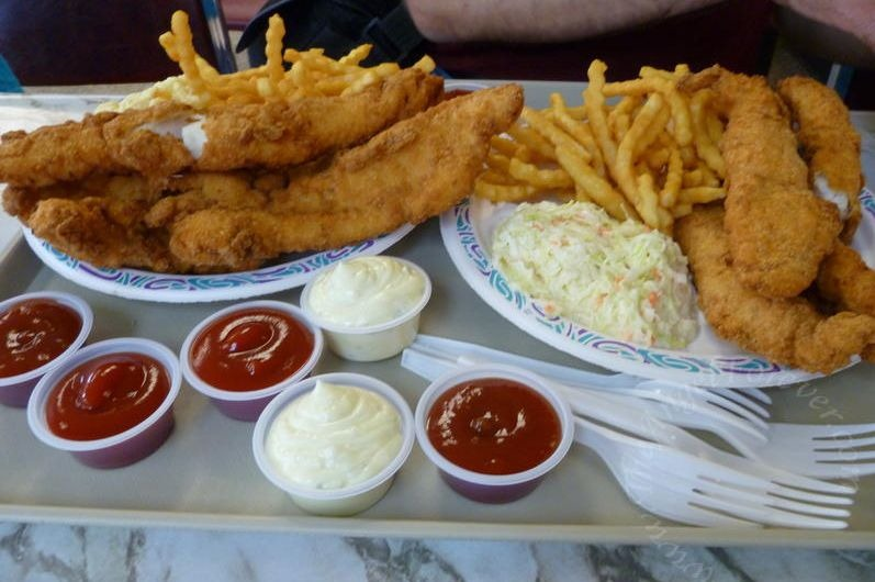 For the love of a fish fry the angel forever for Local fish fry
