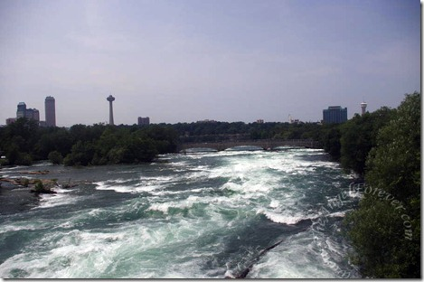 Raging Niagara River