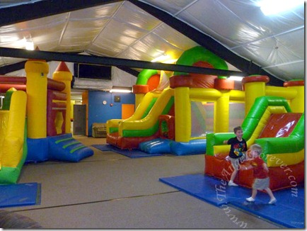 The Bounce Place Was Ours
