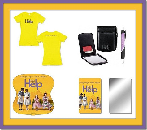 The Help Giveaway Items