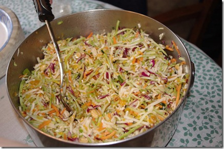 Asian Salad with Rainbow Mix