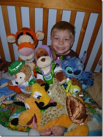 A few of his Disney friends