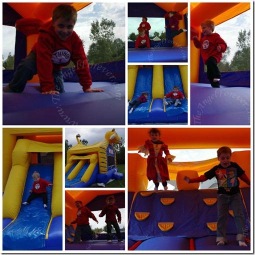 Cousins Bouncing