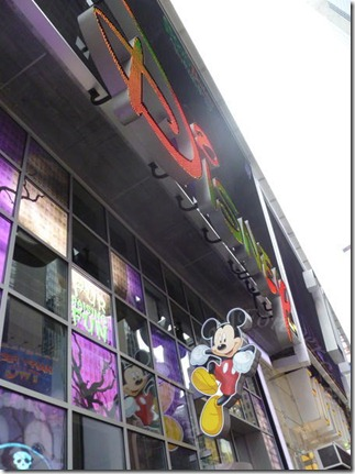 Disney Store in Time Square