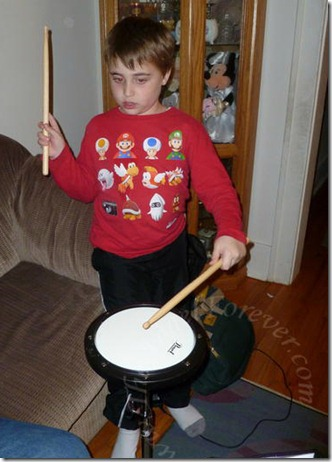 Drum practice time