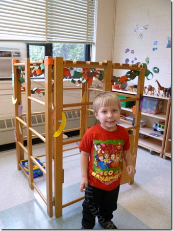 Little Nursery School Sukkah