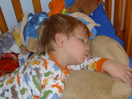 Sleeping Preschooler