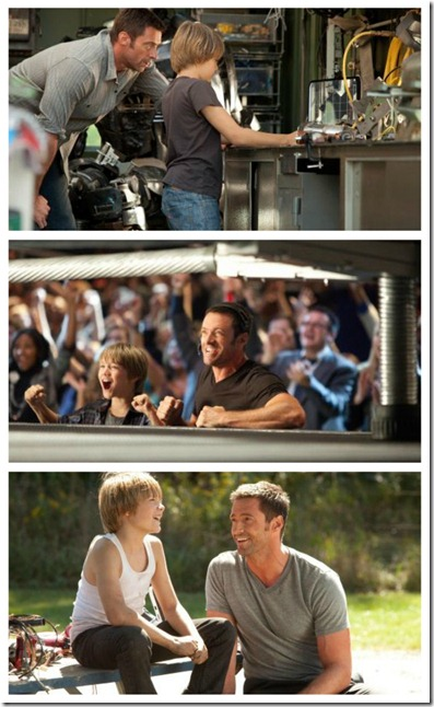 Real Steel - Copy Right DreamWorks