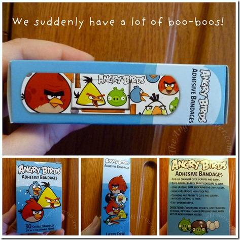 Angry Bird Boo-Boos