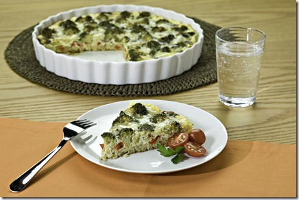 Vegetable and Grain Quiche