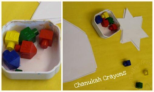 Chanukah Crayons