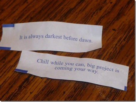 My fortunes