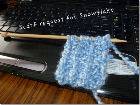 Scarf Request for Snowflake