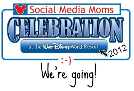 DisneySMMoms 2012 We're Going