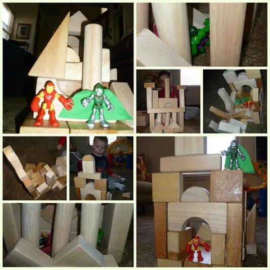 Super Hero Castles
