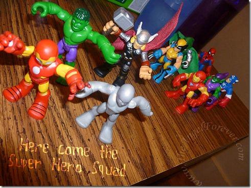 Super Hero Invasion