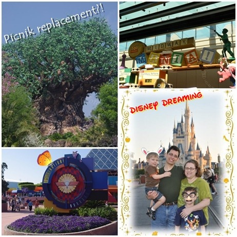 Disney Dreaming Collage