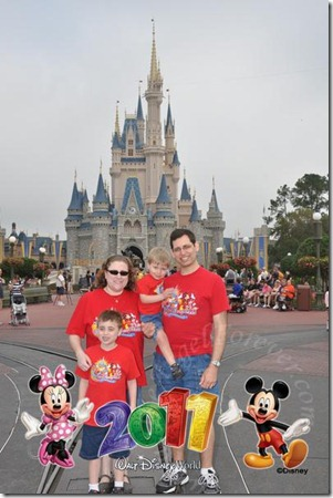 The last day at Disney 2011