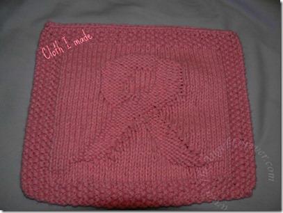 Pink Ribbon Cloth