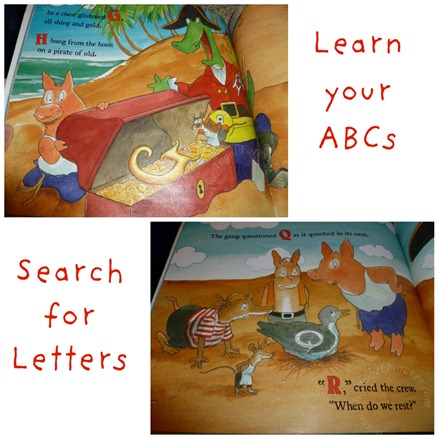Pirates teaching ABCs