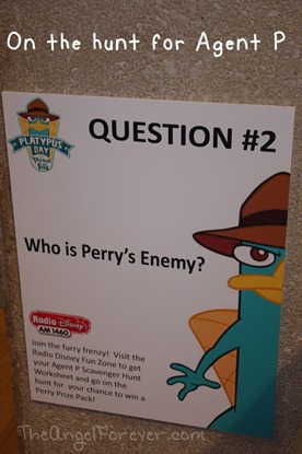 Agent P where are you