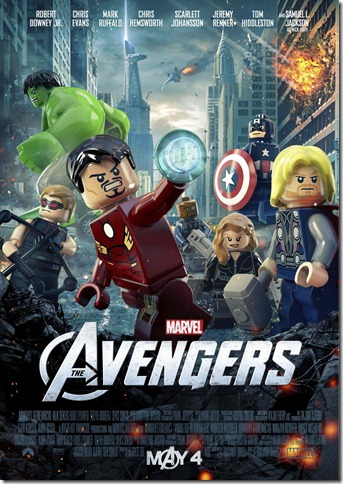 Avengers LEGO Theatrical Poster