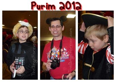Purim 2012 Costumes