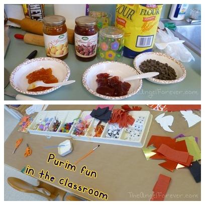 Purim classroom fun