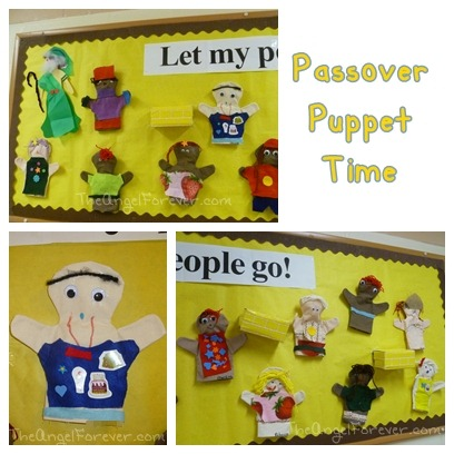 Passover Puppets