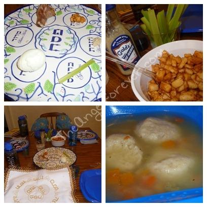 Some Seder foods
