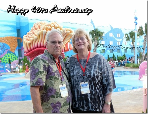 40th Anniversary Wishes