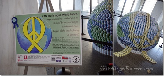 Canstruction - CAN You Imagine World Peace