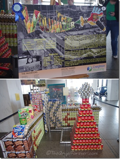 Canstruction - The Volumizer