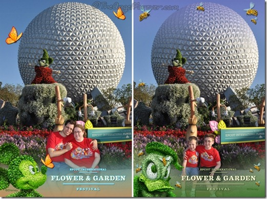Entrance to 2012 Flower and Garden Festival at Epcot