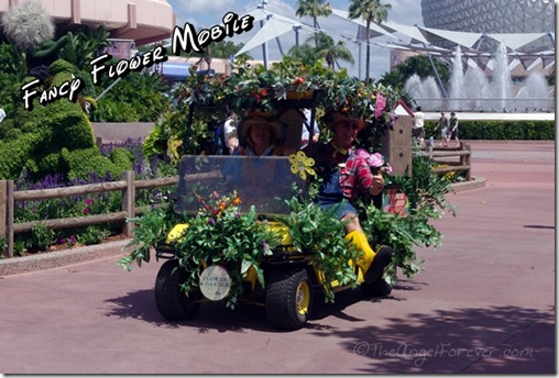Epcot Flower and Garden Festival Mobile