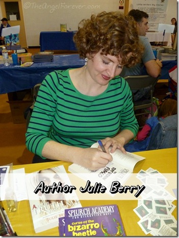 Author Julie Berry