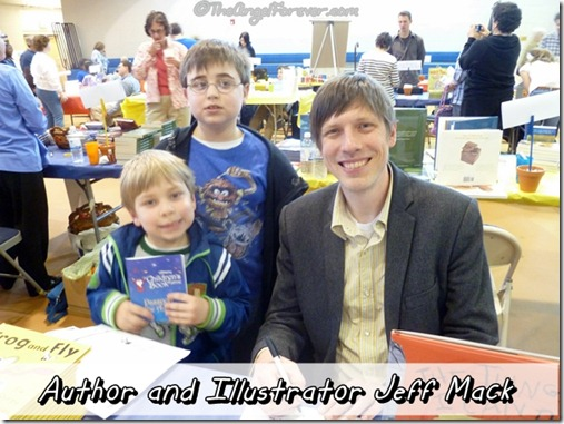 Author and Illustrator Jeff Mack