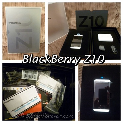 BlackBerry Z10 arrived