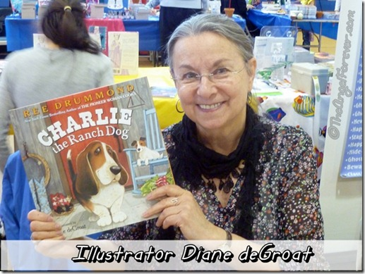 Illustrator Diane deGroat