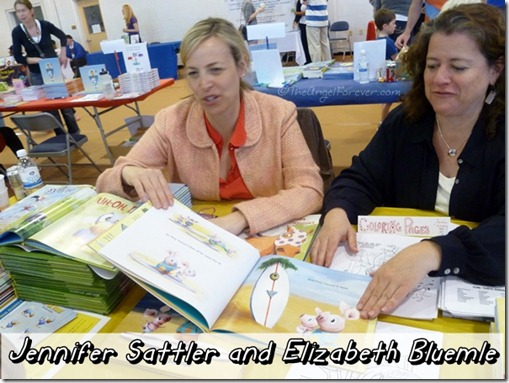 Jennifer Sattler and Elizabeth Bluemle