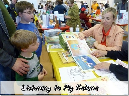 Reading of Pig Kahuna