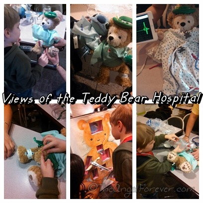 Teddy Bear Hospital Stations