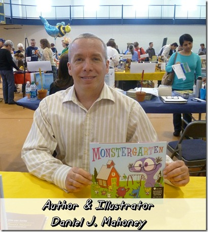 Author and Illustrator Daniel J Mahoney