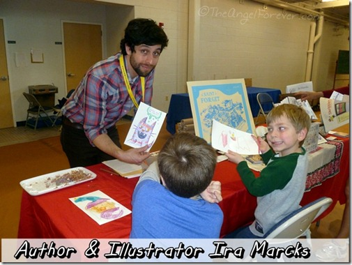 Author and Illustrator Ira Marcks