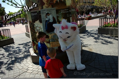 Meeting Marie in Epcot