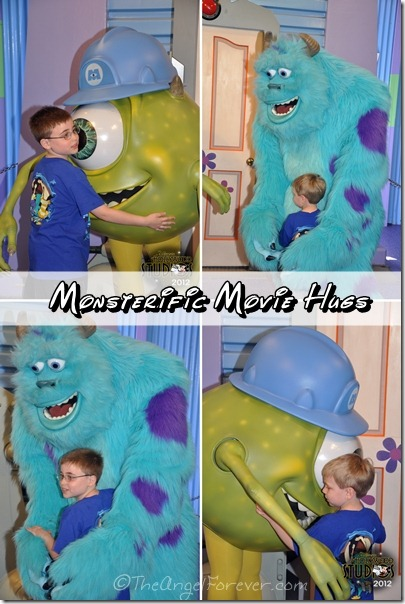 Meetings famous stars from Monsters Inc