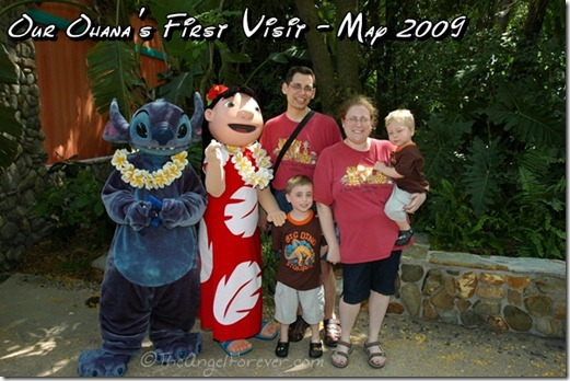 Our Ohana at Walt Disney World